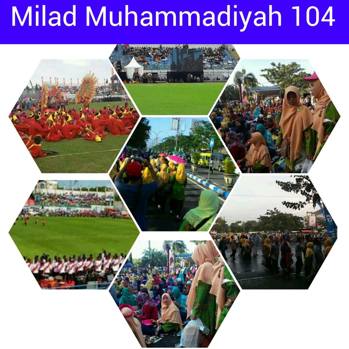 Semarak Milad Muhammadiyah 104 Bangkalan